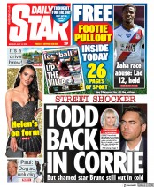 Daily Star front page for 13 July 2020