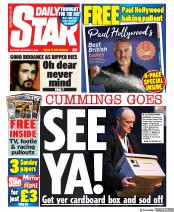Daily Star front page for 14 November 2020