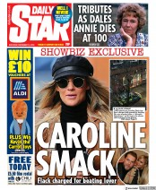 Daily Star () Newspaper Front Page for 14 December 2019