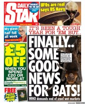 Daily Star front page for 14 April 2021