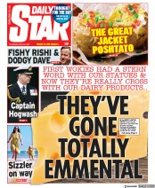 Daily Star front page for 15 April 2021