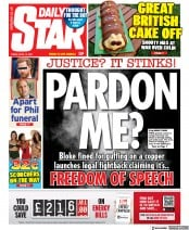 Daily Star () Newspaper Front Page for 16 April 2021