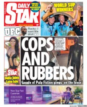 Daily Star () Newspaper Front Page for 16 July 2019