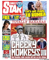 Daily Star front page for 17 October 2020