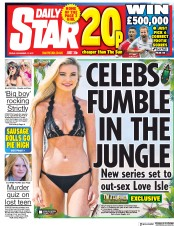 Daily Star (UK) Newspaper Front Page for 17 November 2017