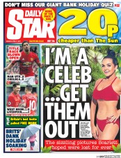 Daily Star (UK) Newspaper Front Page for 17 April 2017