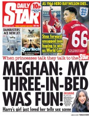 Daily Star (UK) Newspaper Front Page for 17 May 2018