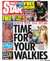 Daily Star front page for 18 January 2021