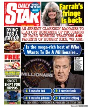 Daily Star front page for 19 January 2021
