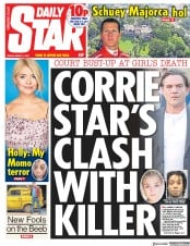 Daily Star (UK) Newspaper Front Page for 1 March 2019