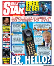 Daily Star front page for 1 May 2021