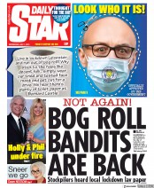 Daily Star front page for 1 July 2020