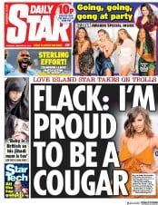 Daily Star () Newspaper Front Page for 21 February 2019