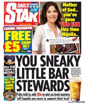 Daily Star front page for 23 April 2021