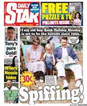 Daily Star front page for 23 May 2020