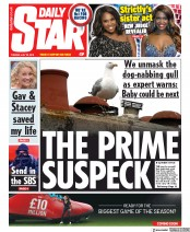 Daily Star (UK) Newspaper Front Page for 23 July 2019