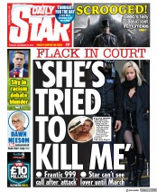 Daily Star () Newspaper Front Page for 25 December 2019