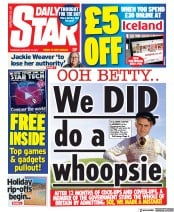 Daily Star front page for 25 February 2021