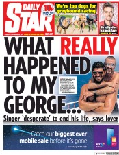 Daily Star (UK) Newspaper Front Page for 25 September 2018