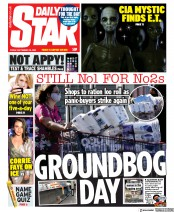 Daily Star (UK) Newspaper Front Page for 25 September 2020