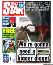 Daily Star front page for 26 March 2021