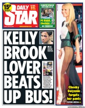 Daily Star () Newspaper Front Page for 26 April 2013