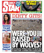 Daily Star front page for 26 June 2020
