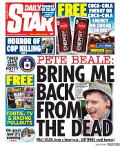 Daily Star front page for 26 September 2020