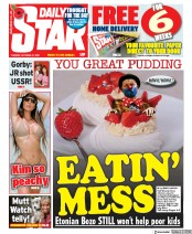 Daily Star front page for 27 October 2020