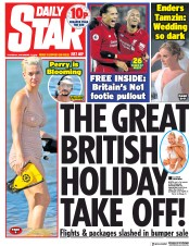 Daily Star (UK) Newspaper Front Page for 27 December 2018