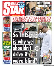 Daily Star front page for 27 June 2020