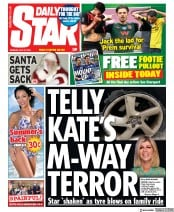 Daily Star front page for 27 July 2020