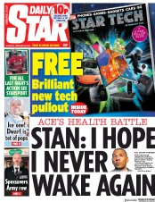 Daily Star (UK) Newspaper Front Page for 28 February 2019