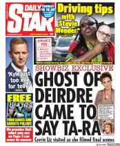 Daily Star (UK) Newspaper Front Page for 28 May 2020