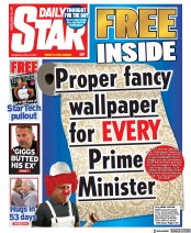 Daily Star front page for 29 April 2021