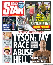 Daily Star front page for 29 June 2020