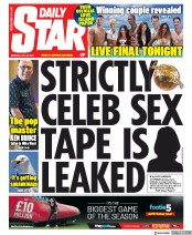 Daily Star (UK) Newspaper Front Page for 29 July 2019