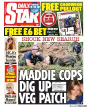 Daily Star front page for 29 July 2020