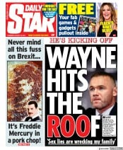 Daily Star () Newspaper Front Page for 29 August 2019