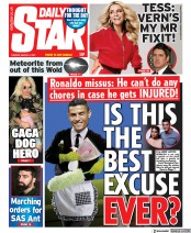Daily Star front page for 2 March 2021