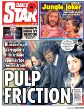 Daily Star (UK) Newspaper Front Page for 30 October 2018