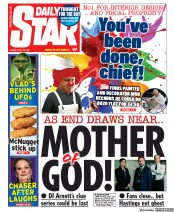 Daily Star front page for 30 April 2021