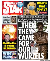 Daily Star front page for 30 June 2020