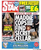 Daily Star front page for 30 July 2020