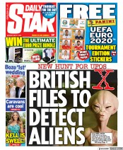 Daily Star () Newspaper Front Page for 31 May 2021