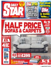 Daily Star (UK) Newspaper Front Page for 3 March 2017