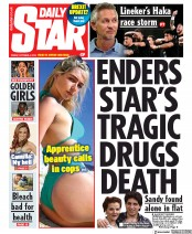 Daily Star (UK) Newspaper Front Page for 4 October 2019