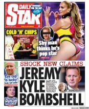 Daily Star front page for 4 May 2021