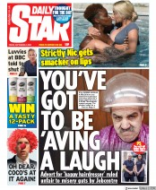 Daily Star (UK) Newspaper Front Page for 4 September 2020