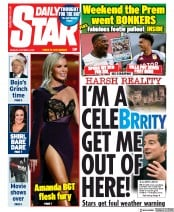 Daily Star front page for 5 October 2020